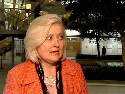 reaction to Islamic extremists Siobhain McDonagh MP interview SOT Terrorists who put bombs on trains who don't discriminate between religion and no...