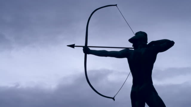 archer, time lapse - longbow stock videos and b-roll footage