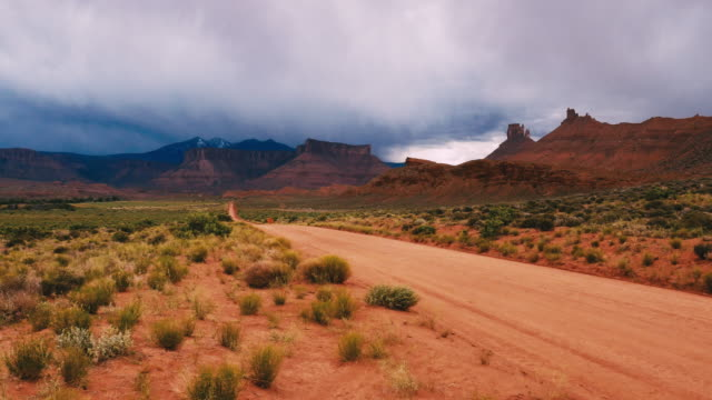 arches national park and desert in utah, usa - arches national park stock videos & royalty-free footage