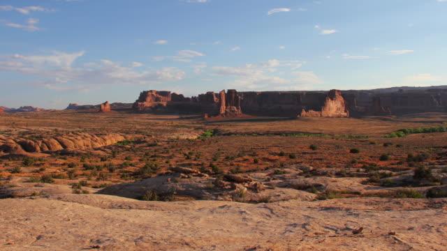 Arches National Park landscape - 4K