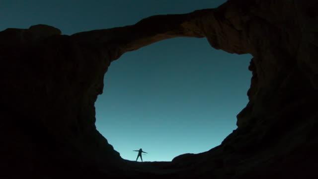 Arches National Park, Moab, Utah, LED hula hoop