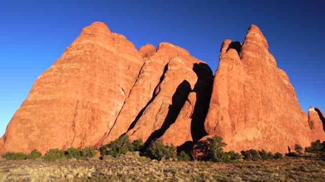 arches national park, utah, usa, north america, america - arches national park stock videos & royalty-free footage