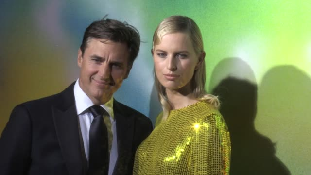 archie drury karolina kurkova and jefferson hack on the red carpet for the bof 500 gala in new york city new york city ny usa on sunday september 9... - karolina kurkova stock videos and b-roll footage
