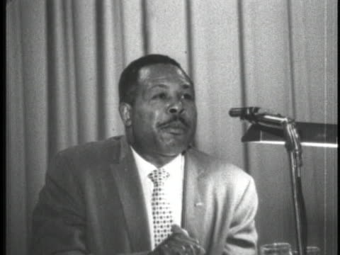 archie moore addresses the 1962 convention - united states and (politics or government) stock videos & royalty-free footage