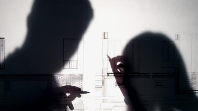 Architect blueprint