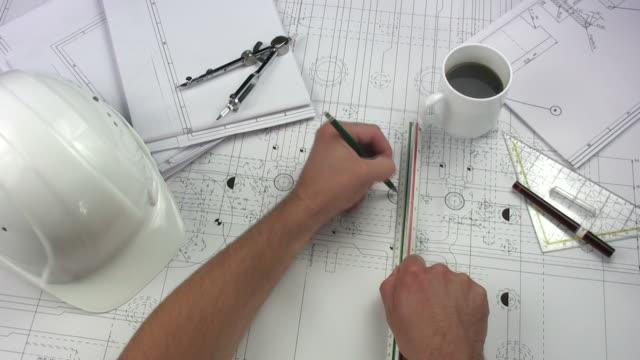 Architect having coffee break