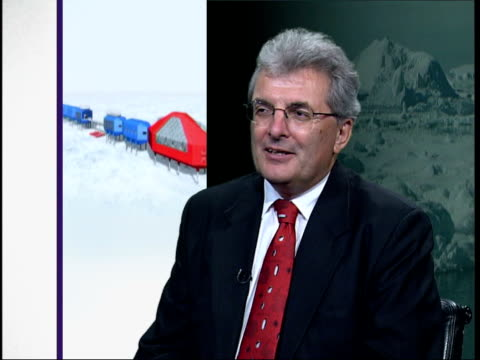 architects design new buiding for the british antarctic survey base in antarctica england london int professor chris rapley interview sot prime... - impact stock videos & royalty-free footage