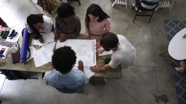 Architects Developing Project