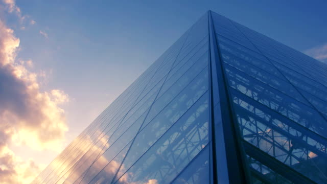 architectural abstracts - office block exterior stock videos & royalty-free footage