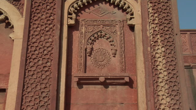 CU, ZO, Architectural detail, Agra Fort, Agra, Uttar Pradesh, India