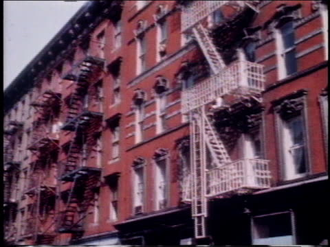 vídeos y material grabado en eventos de stock de 1962 montage architecture in manhattan / new york, new york, united states - met