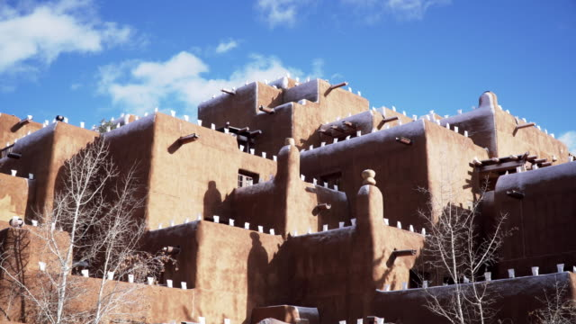 architecture in taos, new mexico - history stock videos & royalty-free footage