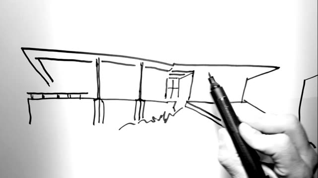 Architektur auf Papier