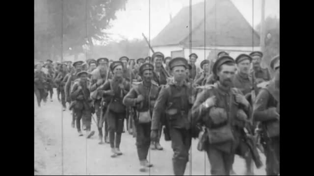 archival battle of arras wwi 19101919 spring devons soldiers british marching men artillery - marching stock videos and b-roll footage