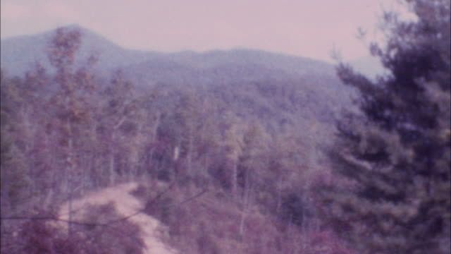 archival  footage of mountains - appalachia stock videos & royalty-free footage