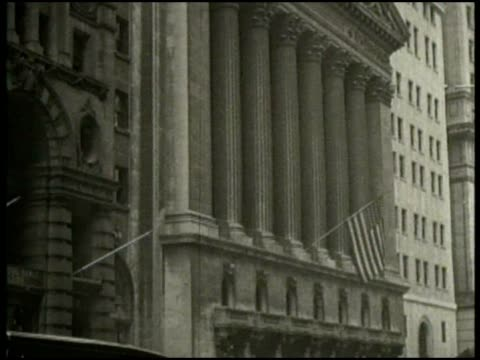 archival footage of the opening bell at the new york stock exchange. - new york stock exchange stock videos & royalty-free footage