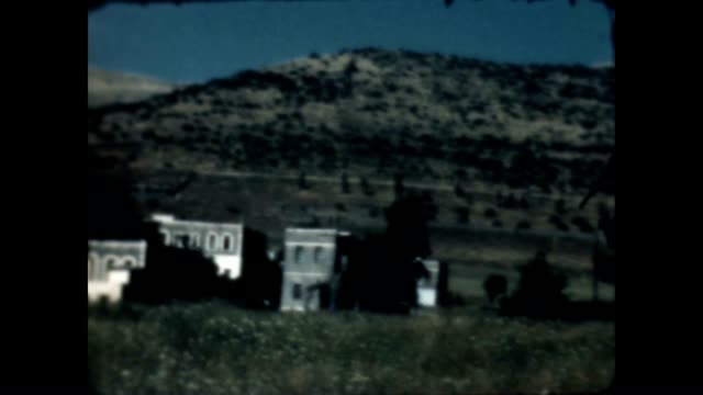 Archival home movie of Tiberius just after the war of 1948