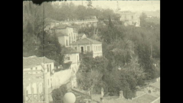 Archival shots of the Alhambra palace and surroundings