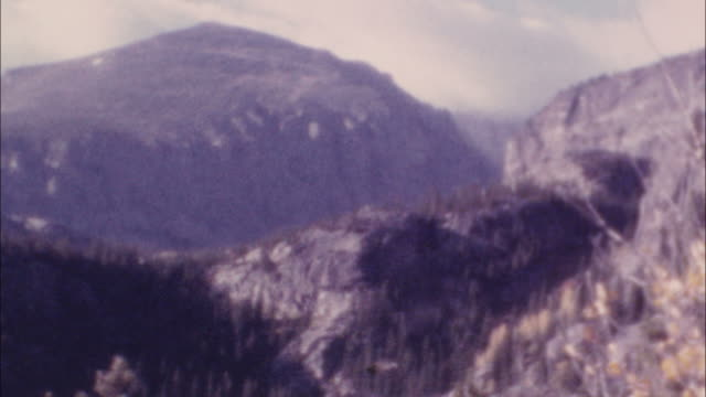 archival wilderness footage - appalachian mountains stock videos & royalty-free footage