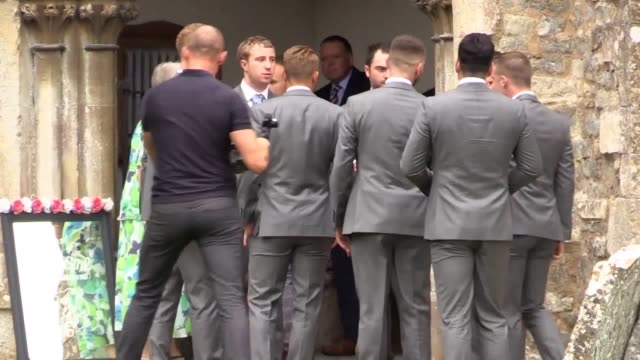 Archive footage of English international cricketer Ben Stokes at his wedding Stokes has been charged with affray after a fight outside a Bristol...