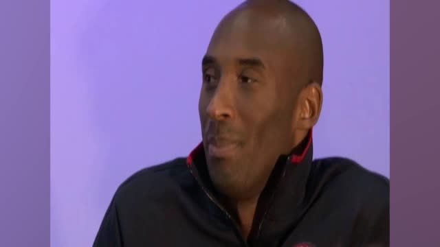 archive footage of kobe bryant showing excitement at attending events at the 2012 olympic games. - crash stock videos & royalty-free footage