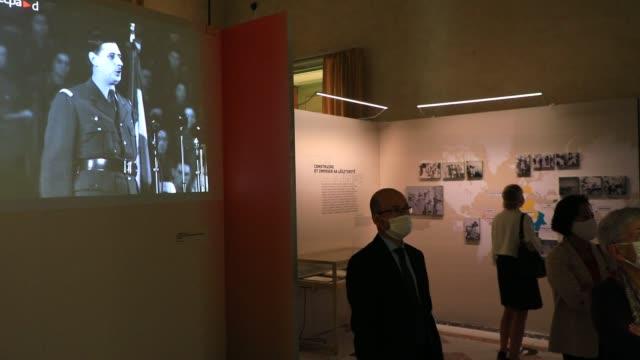 FRA: Charles De Gaulle's Exhibition At Chateau De Vincennes