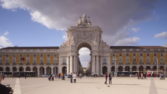 Arco da Rua Augusta in Lisbon, Portugal.