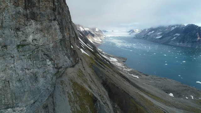 arctic landscape of hornsund, svalbard - svalbard islands stock videos & royalty-free footage