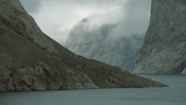 Arctic Landscape On Baffin Island Canada