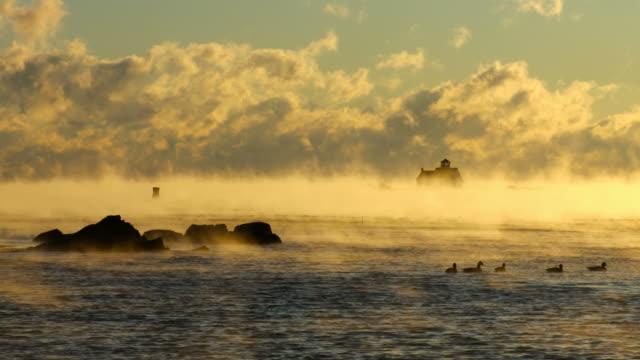 Arctic Sea Rauch im Hafen von Portsmouth