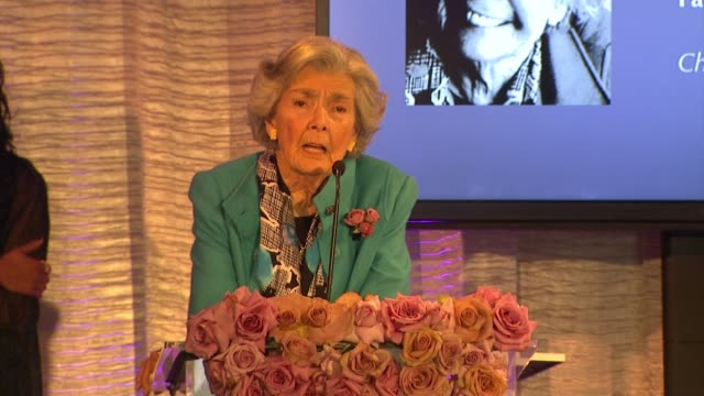speech ardath francke at pandora hearts of today honoree luncheon at montage beverly hills on november 15 2014 in beverly hills california - montage beverly hills stock videos & royalty-free footage
