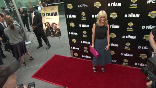 arden myrin at the d train los angeles premiere at arclight cinemas on april 27 2015 in hollywood california - arclight cinemas hollywood stock videos and b-roll footage