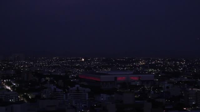 vídeos y material grabado en eventos de stock de arena da baixada in curitiba, brazil - sin editar