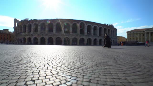 vídeos y material grabado en eventos de stock de arena di verona - anfiteatro