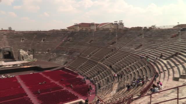 arena, verona, italy - amphitheater stock videos & royalty-free footage