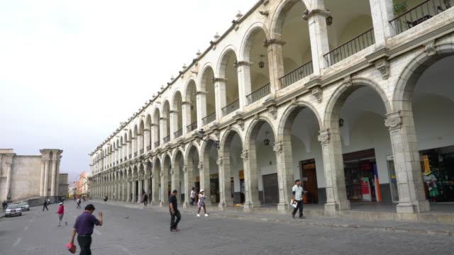 Centrum van de stad Arequipa Peru