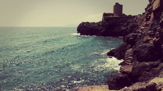 argentario and ansedonia mediterranean sea - tuscany stock videos and b-roll footage
