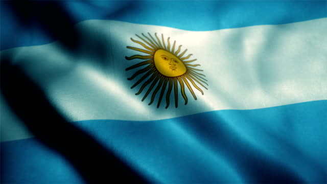 argentina flag, argentinian flag - argentinian culture stock videos & royalty-free footage