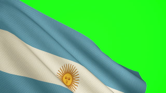 vídeos y material grabado en eventos de stock de pantalla argentina bandera verde - bandera argentina