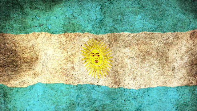 argentina flag - argentinian flag stock videos & royalty-free footage