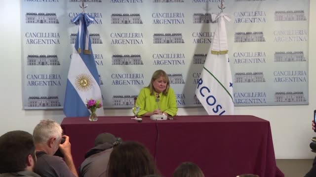 argentina has taken over the presidency of mercosur even though venezuela insists it still holds the group's rotating presidency a claim venezuela's... - mercosur stock videos & royalty-free footage
