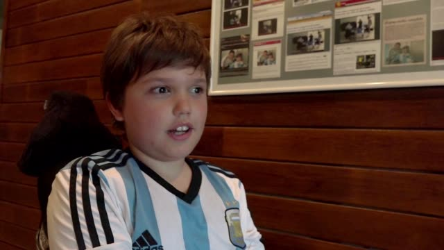 Argentina is football mad but its only been a year since kids in wheelchairs have been able to take part in their favorite pass time