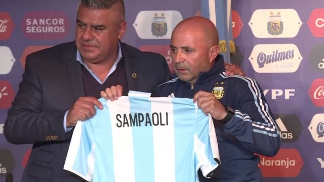 Argentina national football team coach Jorge Sampaoli agrees to leave after his team's failure in the Russia 2018 World Cup where it was eliminated...