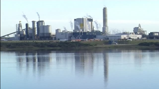 argentina said it would take uruguay to the international court of justice over uruguays approval to boost production at a finnish owned paper pulp... - brasile meridionale video stock e b–roll