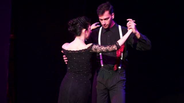 argentina tango - tango dance stock videos & royalty-free footage