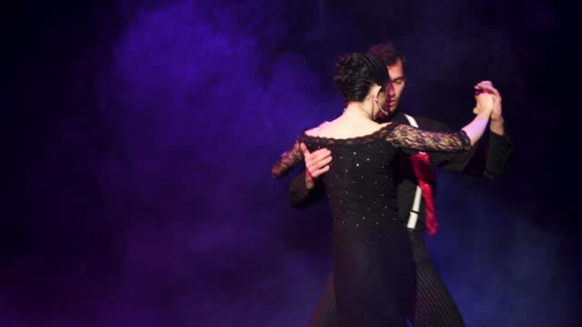 argentina tango - ballroom stock videos & royalty-free footage