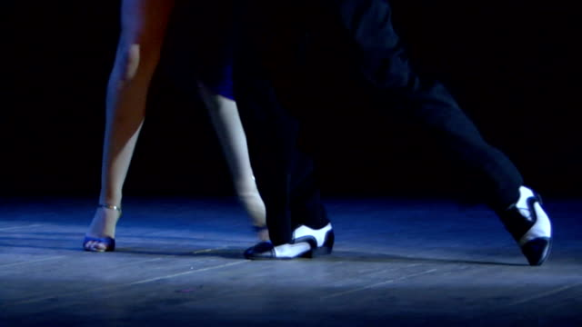 argentine tango - tango dance stock videos & royalty-free footage