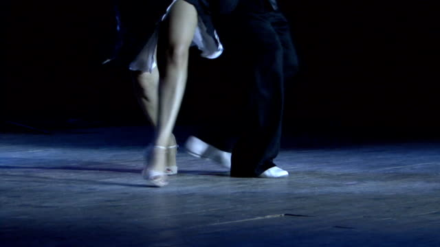 argentine tango - human leg stock videos & royalty-free footage
