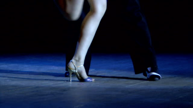 argentine tango - tango dance stock videos and b-roll footage