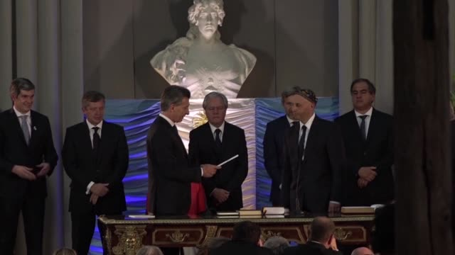 Argentinas new ministers are sworn in in Buenos Aires after the countrys new conservative leader Mauricio Macri took power at the Casa Rosada...